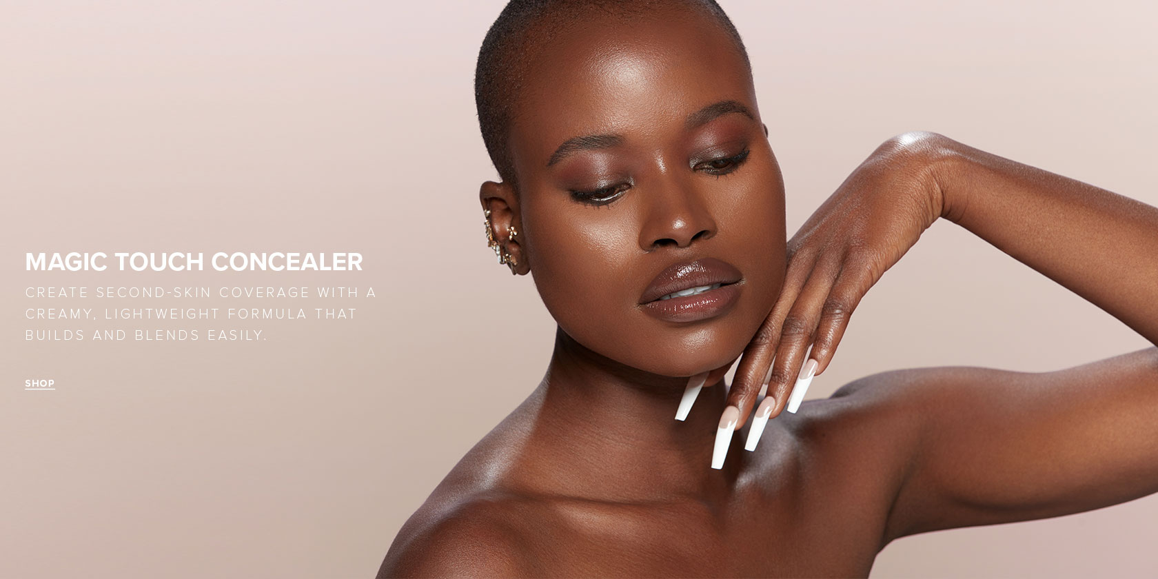Magic Touch Concealer | Create second skin coverage with a creamy, lightweight formula that builds and blends easily