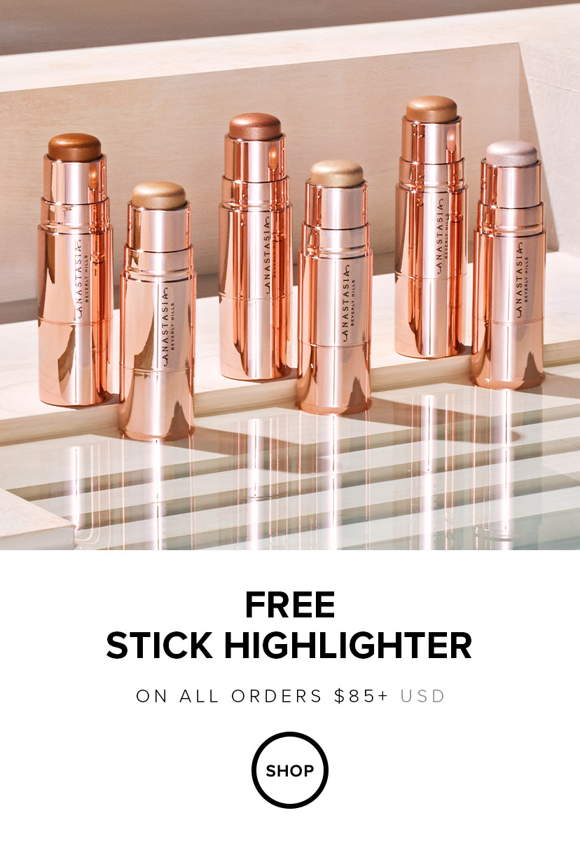 Free Stick Highlighter with $85 Order