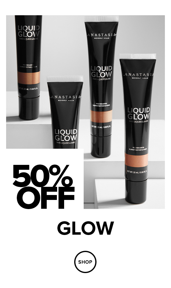 50% off Glow