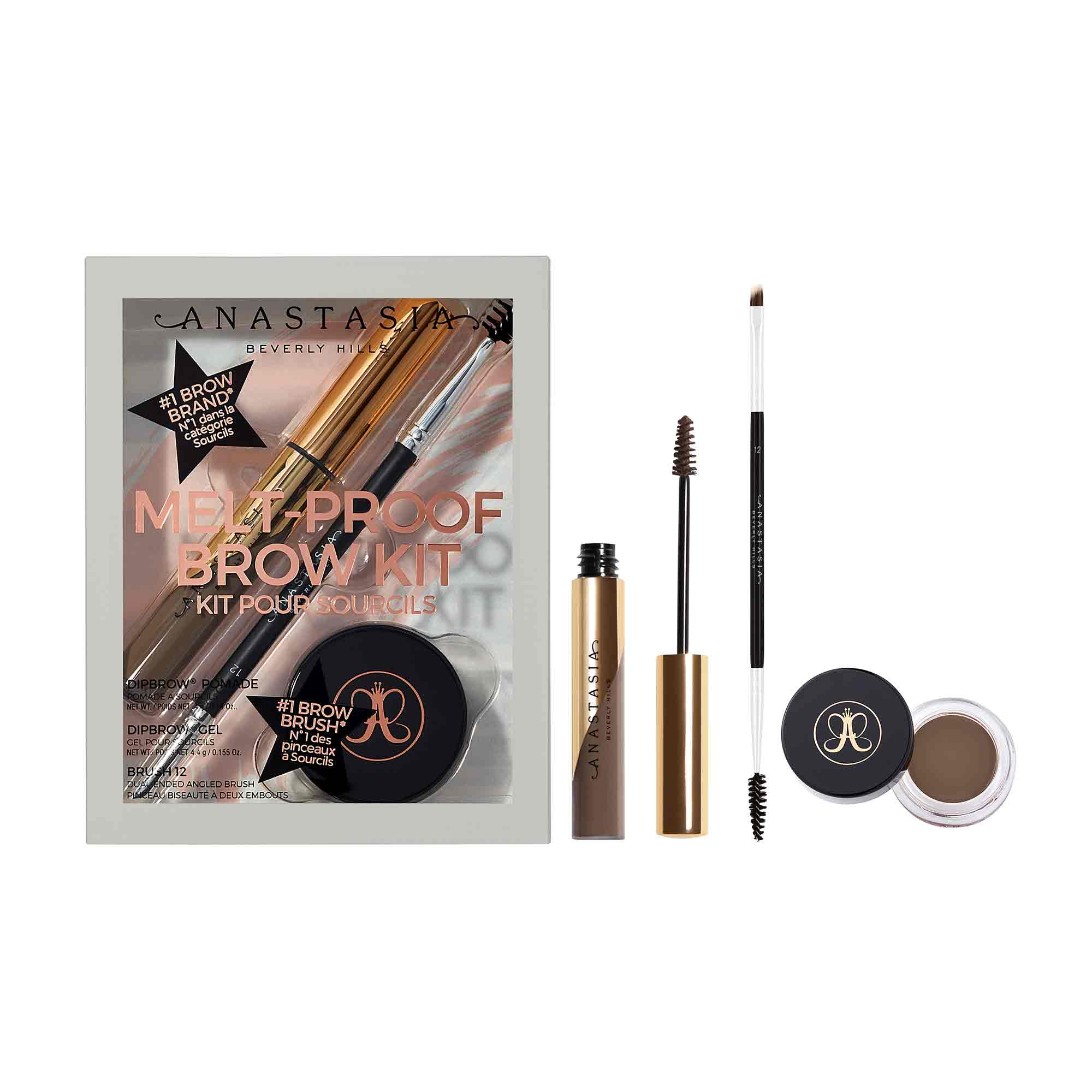 Melt-Proof Brow Kit - Soft Brown