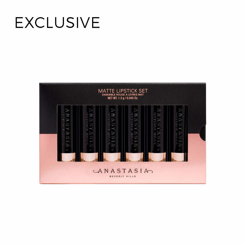 Mini Matte Lipstick 6-Piece Set