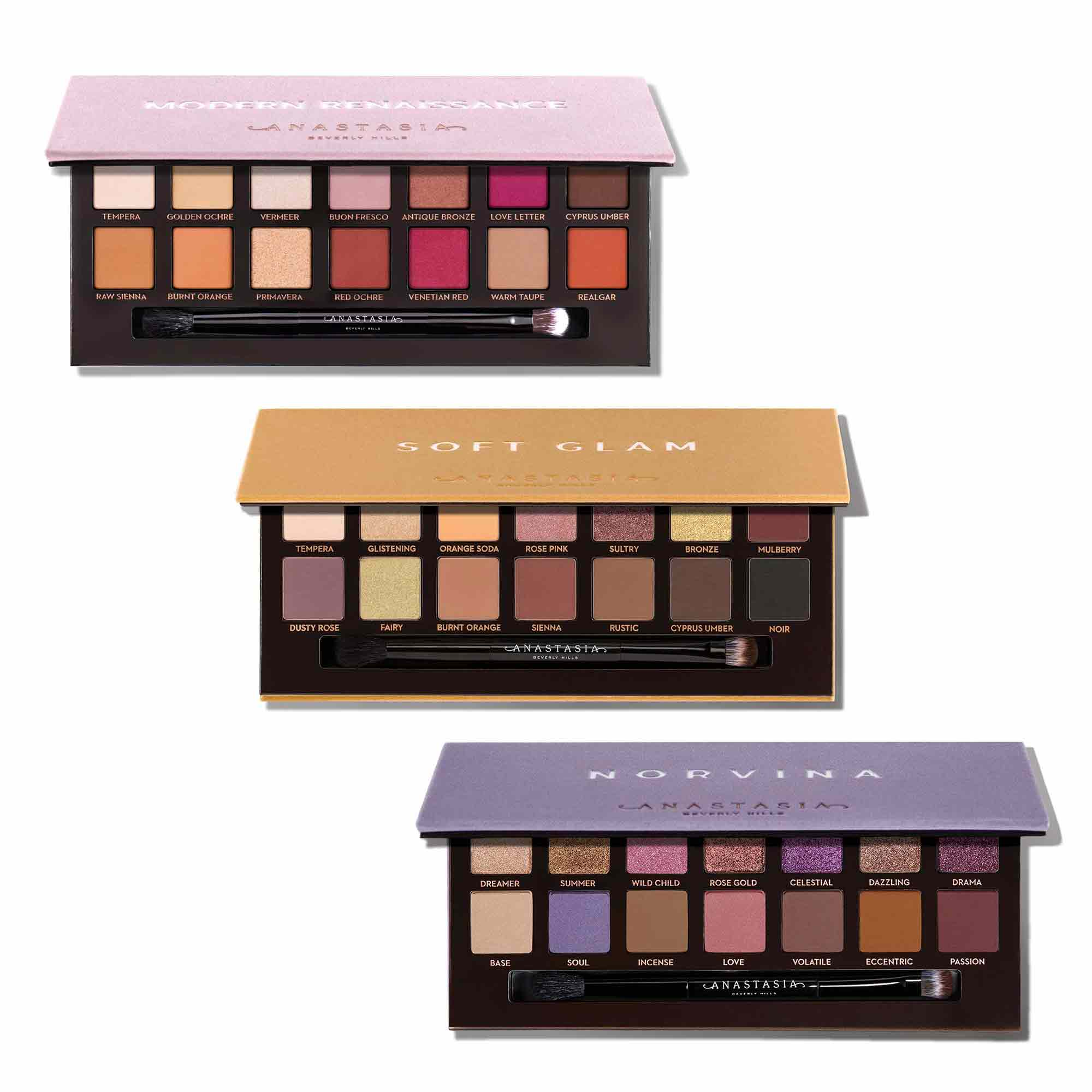 Eyeshadow Palette Rose Gold Collection